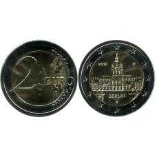 2 евро Германии 2018 г., Берлин (G)