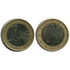 1 евро Германии 2002 г. (G)