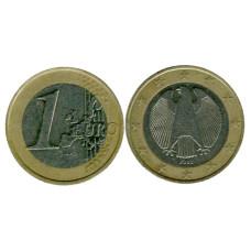 1 евро Германии 2002 г. (F)