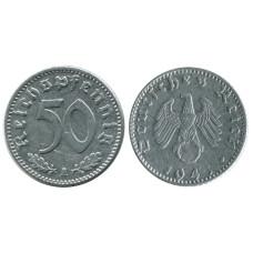 50 рейхспфеннигов Германии 1941 г. А