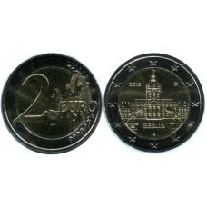 2 евро Германии 2018 г., Берлин (A)