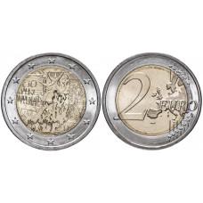 2 евро Германии 2019 г. 30 лет падению Берлинской стены (J)