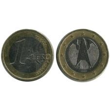 1 евро Германии 2002 г. (А)