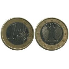 1 евро Германии 2002 г. (J)