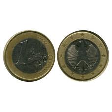 1 евро Германии 2002 г. (D)