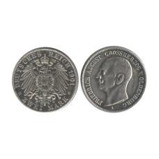 2 марки Германии 1901 г. (Фредрик Август Великий князь V Ольденбурга), (копия)