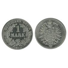 1 марка Германии 1874 г. (В)