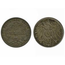 1 марка Германии 1907 г. (А)