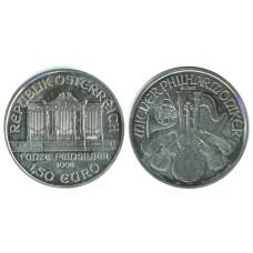 1,50 евро Австрии 2008 г. Венская филармония