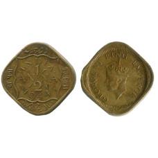 1/2 анна Индии 1944 г. Георг VI