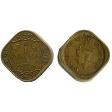 1/2 анна Индии 1945 г. Георг VI