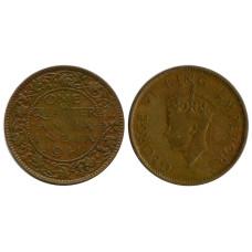 1/4 анна Индии 1941 г. Георг VI