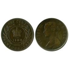 1 цент Ньюфаундленда 1880 г.