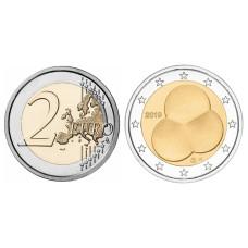2 Евро Финляндии 2019 г. 100 лет Конституции