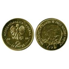2 злотых Польши 2006 г. Чемпионат мира по футболу, Германия