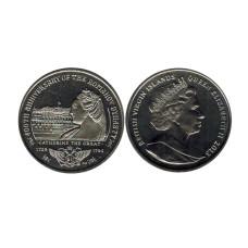 1 доллар Британские Виргинские острова 2013 г. 400 лет династии Романовых - Екатерина II Великая