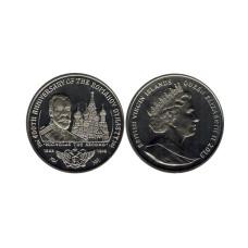 1 доллар Британские Виргинские острова  2013 г. 400 лет династии Романовых - Николай II