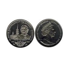 1 доллар Британские Виргинские острова 2013 г. 400 лет династии Романовых - Петр I