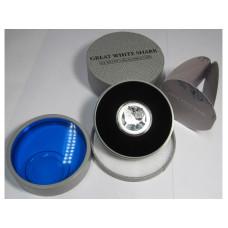 2 доллара Ниуэ 2012 г., Большая белая акула (Proof, серебро)