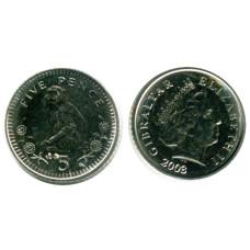 5 пенсов Гибралтара 2003 г., Магот