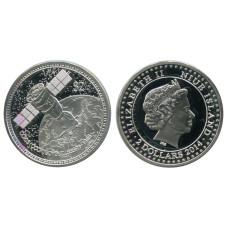 2 доллара Острова Ниуэ 2014 г., Союз (СССР) Proof