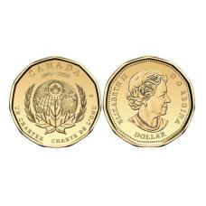 1 доллар Канады 2020 г. 75 лет ООН