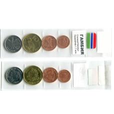Набор монет Гамбии регулярный чекан 1998 г.