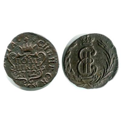 Монета Полушка 1772 г.(Сибирская)