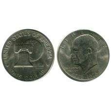 1 доллар США 1976 г. 200 лет независимости США
