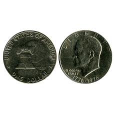 1 доллар США 1976 г. 200 лет независимости США (2)