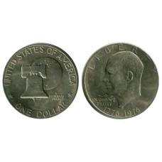 1 доллар США 1976 г. 200 лет независимости США (1)
