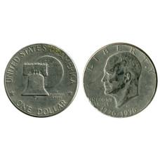 1 доллар США 1976 г., 200 лет независимости США (D) 3