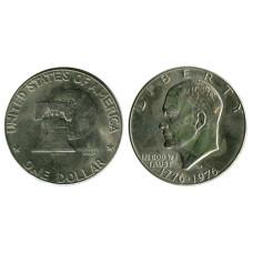 1 доллар США 1976 г., 200 лет независимости США (D) 2