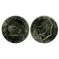 1 доллар США 1976 г., 200 лет независимости США (D) 1