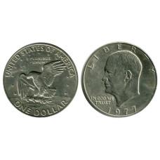 1 доллар США 1977 г. Доллар Эйзенхауэра