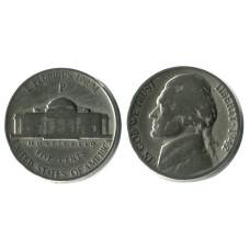 5 центов США 1942 г. (P) Военный выпуск
