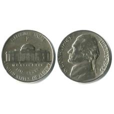 5 центов США 1943 г. (P) Военный выпуск