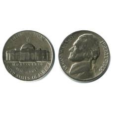 5 центов США 1945 г. (P) Военный выпуск