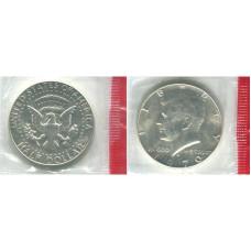 Полдоллара США 1970 г. Кеннеди (D)
