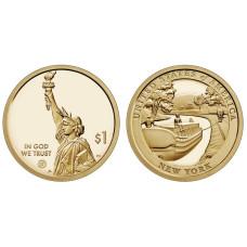 1 доллар США 2021 г. Канал Эри (D)