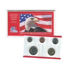 Набор из 5-ти монет США 2003 г. (D) в конверте