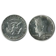 Полдоллара США 1965 г. Кеннеди