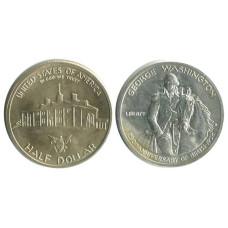 Полдоллара США 1982 г. Джордж Вашингтон D
