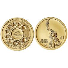 1 доллар США 2020 г. Телефон (P)