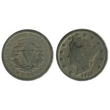 5 центов США 1912 г.