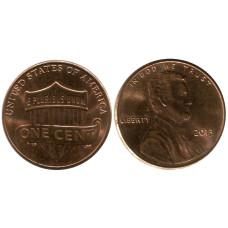 1 цент США 2013 г.