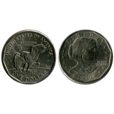 1 доллар США 1999 г. Сьюзен Энтони (P)