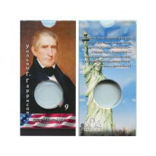 Блистер под монету США 1 доллар 2009 г. Президенты USA (9-й Уильям Г. Гаррисон)