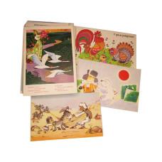 Набор открыток Мульфильмы (42 шт)