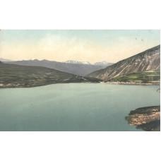 Открытка Кавказ. Горная Чечня. Озеро Эйзенъ-Амъ